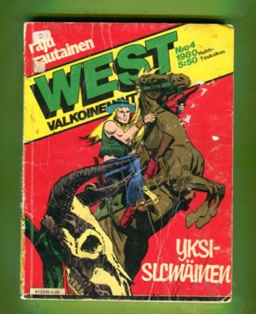 West - Valkoinen intiaani 4/80 - Yksisilmäinen