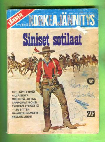 Lännen Korkeajännitys 8/75 - Siniset sotilaat