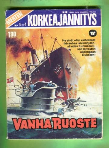 Merten Korkeajännitys 4/74 - Vanha Ruoste