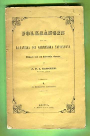 Folksången hos de Romaniska och Germaniska nationerna 1 - De Romaniska nationerna