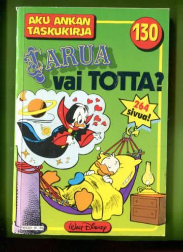 Aku Ankan taskukirja 130 - Tarua vai totta? (1. painos)