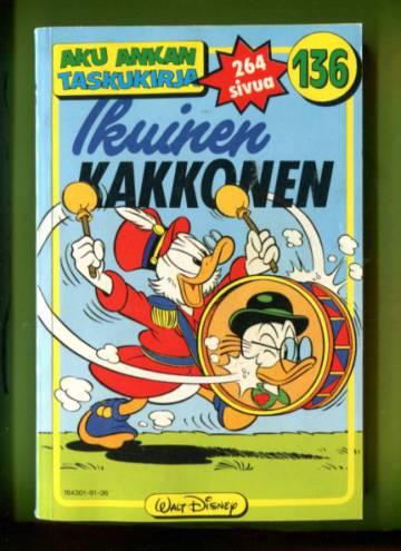 Aku Ankan taskukirja 136 - Ikuinen kakkonen (1. painos)