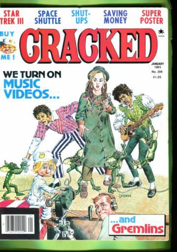 Cracked #209 Jan 85