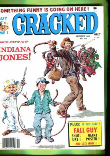Cracked #208 Nov 84