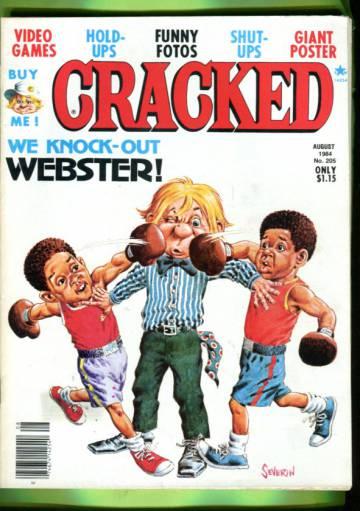 Cracked #205 Aug 84