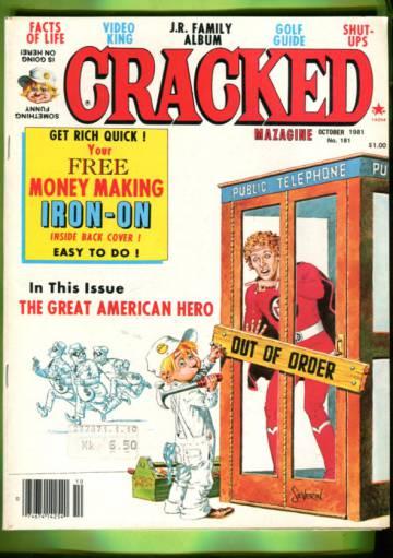 Cracked #181 Oct 81