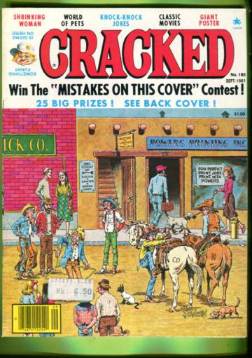 Cracked #180 Sep 81
