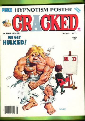 Cracked #177 May 81