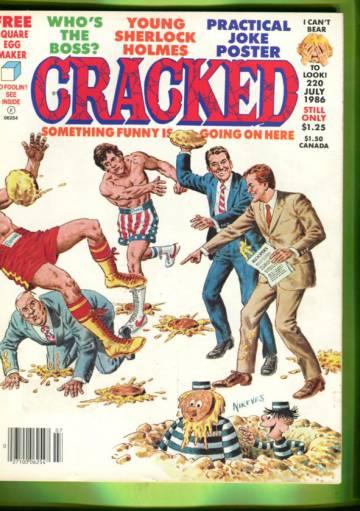Cracked #220 Jul 86