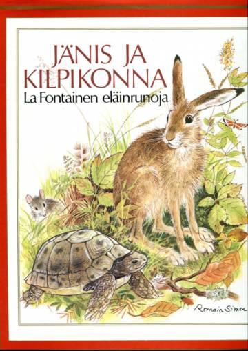 Jänis ja kilpikonna - La Fontainen eläinrunoja