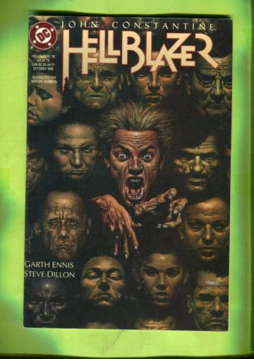 Hellblazer #58 Oct 92