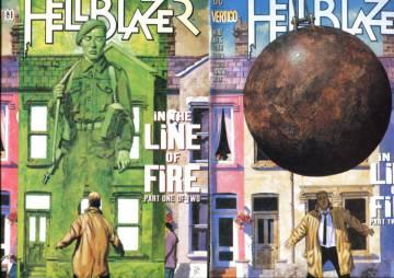 Hellblazer #106-107: In the line of fire #1-2 Oct-Nov 96