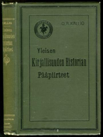 Yleisen kirjallisuuden historian pääpiirteet