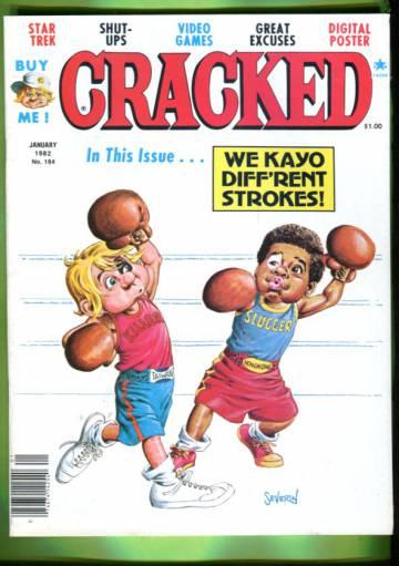 Cracked #184 Jan 82