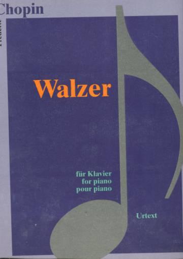 Walzer - Für Klavier / for Piano / pour piano