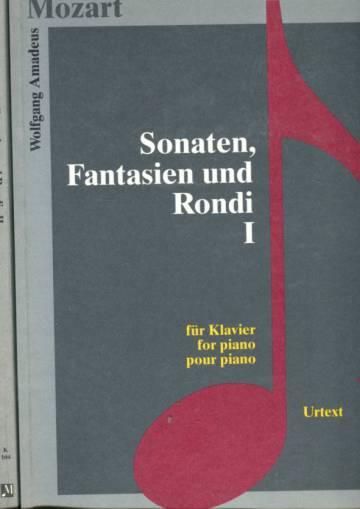Sonaten, Fantasien und Rondi - Für Klavier / for Piano / pour piano 1-2