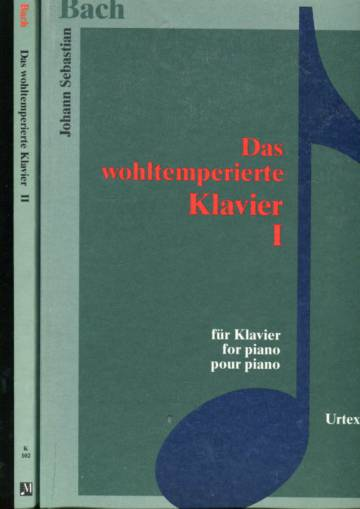 Das wohltemperierte Klavier - Für Klavier / for Piano / pour piano 1-2