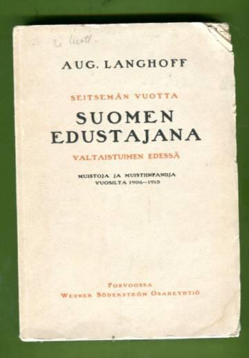 Seitsemän vuotta Suomen edustajana valtaistuimen edessä