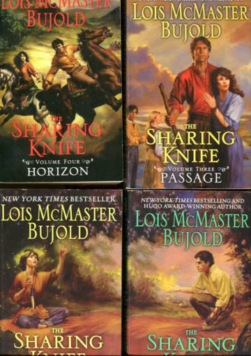 The Sharing Knife 1-4 - Beguilement, Legacy, Passage & Horizon