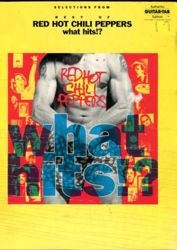 What hits?! Selection from Best of Red Hot Chili Peppers