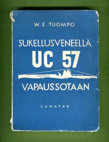 Sukellusveneellä UC 57 vapaussotaan