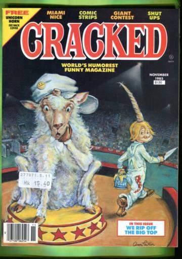 Cracked #216 Nov 85