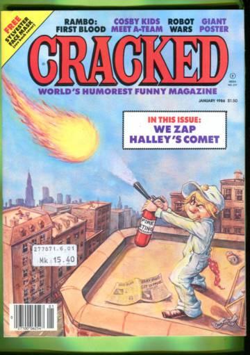 Cracked #217 Jan 86