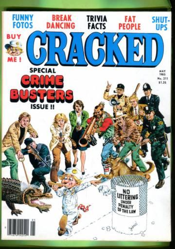 Cracked #211 May 85
