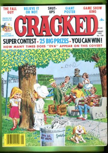 Cracked #188 Aug 82