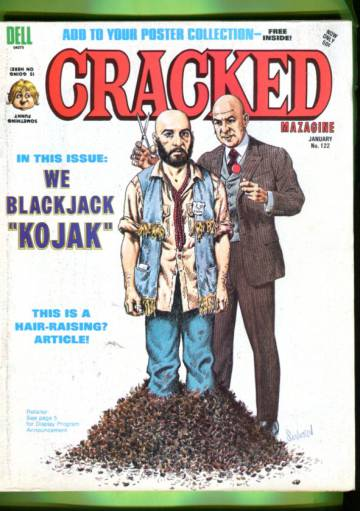 Cracked #122 Jan 75