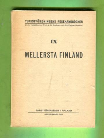 Turistföreningens resehandböcker 9 - Mellersta Finland