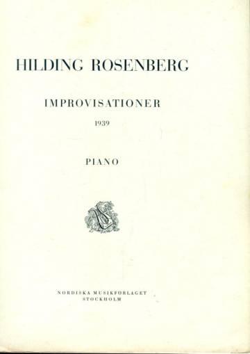 Improvisationer - 1939: Piano
