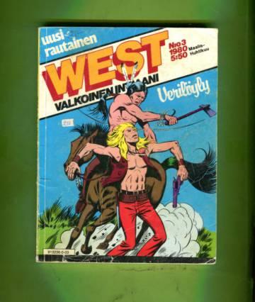 West - Valkoinen intiaani 3/80 - Verilöyly