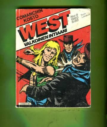 West - Valkoinen intiaani 9/80 - Comanchin kosto