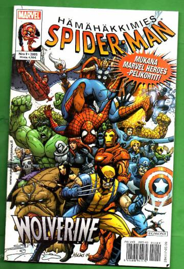 Hämähäkkimies 9/05 (Spider-Man)