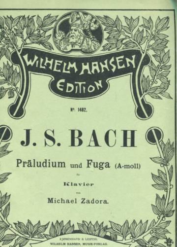 Präludium und Fuga (A-moll) für Klavier