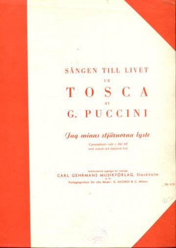 Sången till livet ur Tosca av Puccini