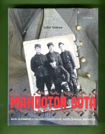 Mahdoton sota - Kun suomenjuutalaiset taistelivat natsi-Saksan rinnalla
