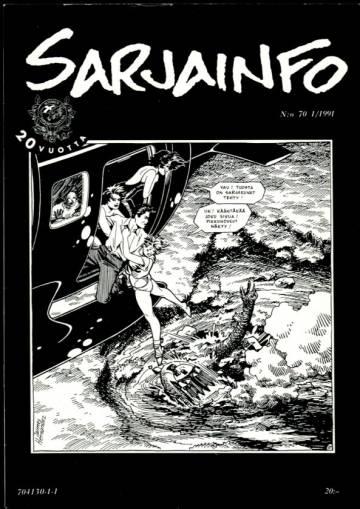 Sarjainfo 1/91 (Nro 70)