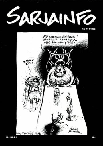 Sarjainfo 1/92 (Nro 74)