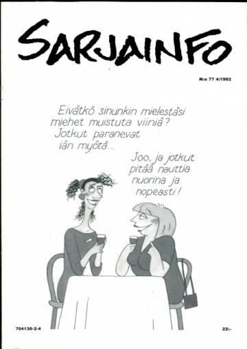 Sarjainfo 4/92 (Nro 77)
