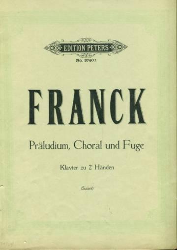 Präludium, Choral und Fuge - Klavier zu 2 Händen