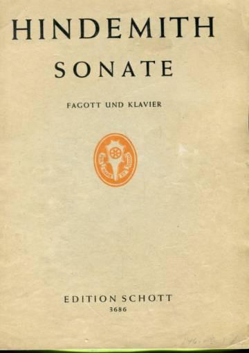 Sonate für Fagott und Klavier