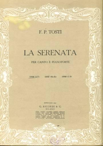 La Serenata per Canto e Pianoforte