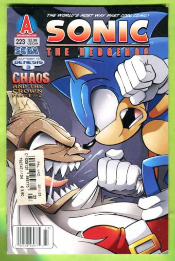 Sonic the Hedgehog #223 May 11