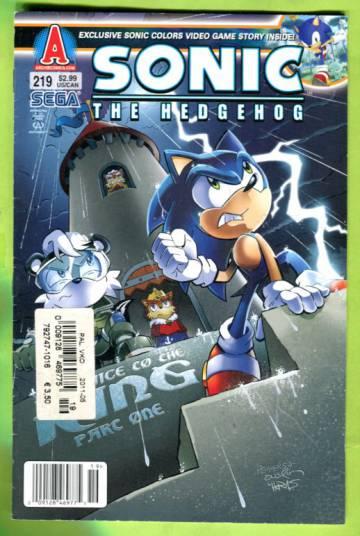 Sonic the Hedgehog #219 Jan 11