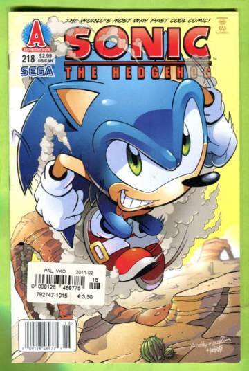 Sonic the Hedgehog #218 Dec 10