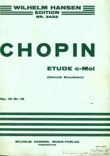 Etude C-mol Op. 10 Nr. 12 -For klaver