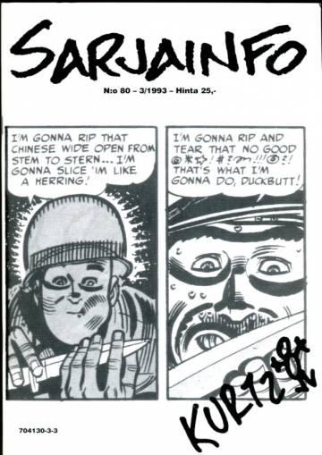 Sarjainfo 3/93 (nro 80)