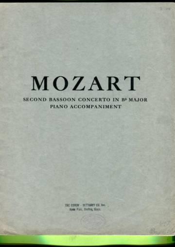 Second Bassoon Concerto in Bb Major, Piano Accompaniment